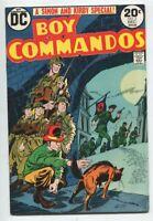 Boy COMMANDOS #2  DC  Joe Simon  Jack Kirby WAR Comic VF