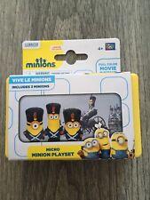 MINIONS MICRO PLAYSET - VIVE LE MINIONS - BNWB - AGE 4+