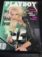 Playboy Magazine - April 1998 | Sex & Music Issue: Violin Goddess Linda Brava