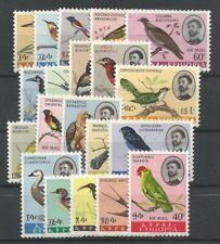 Ethiopia 4 Complete Sets Birds I - IV MNH / ** 1962/67