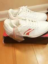 Chasse Flip Iv Cheerleading Girls White w/ Red Strip Shoes 5.5 Us S1621 Sneakers