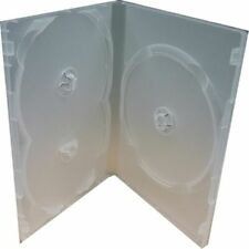 Clear 3 Disc Holders DVD CD Case Movie Box Storage Holder Cover Portable