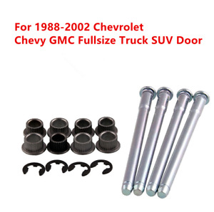 Set Door Repair Hinge Pin and Bushing Kit for 1988-2002 GMC Chevy Truck 88891731