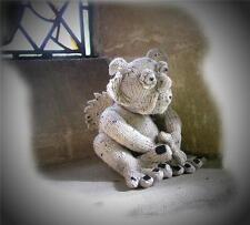 PERCY PENDRAGON Gargoyle toy knitting pattern by Georgina Manvell