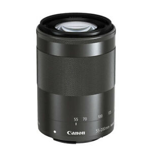 Canon 55-200mm F/4.5-6.3 IS STM Zoom Lens - EF-M Mount for EOS Mirrorless Camera