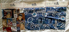 Elvis Presley Reyn Spooner Hawaiian Shirt Cloth Swatch Sample Lot [3]