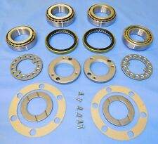 HOLDEN RODEO RA  PAIR 4WD FRONT WHEEL BEARING KITS  + LOCK NUT KITS 2003 TO 2011