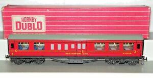 Hornby Dublo 2/3 Rail 4049 BR Mk1 Maroon Composite Restaurant Coach W9566W VNMIB