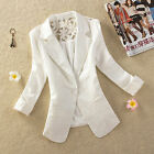 UK Size 8-24 Womens Ladies OL Stylish Lace Slim Top Suit Coat Jacket Blazer