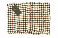 Sciarpa Daks, unisex, tessuto vintage, disegna tartan beige