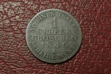 Alemania Prusia Plata 1 silber Groschen 1840, (1561)