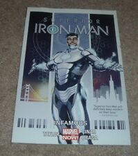 SUPERIOR IRON MAN Infamous Volume 1 Issues #1-5 Marvel Graphic Novel TPB