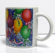 Flowers, Inc. Balloons Party Coffee Mug Cup - Colorful