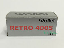 5 rolls Rollei RETRO 400S 120 B&W Film