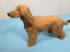 Vintage Castagna Afghan Hound Dog Figurine Made In Italy 1988