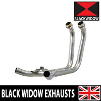 Yamaha TDM 900 2-2 Stainless Exhaust Headers Down Pipes Front Pipes Collector