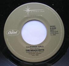 *THE BEACH BOYS California girls / Let him run wild CANADA MEGA RARE Starline 45
