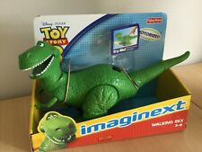 DISNEY TOY STORY 3 IMAGINEXT WALKING TALKING REX  FISHER PRICE BRAND NEW MINT
