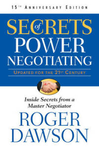 Secrets of Power Negotiating, 15th Anniversary Edition: Inside Secre - VERY GOOD