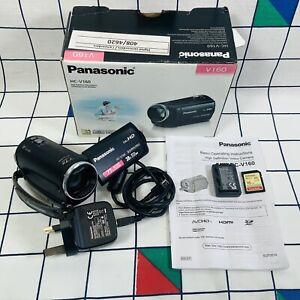 Panasonic HC-V160 Full HD 1920x1080p 8.9mp 38x / 77x Zoom Camcorder Video Camera