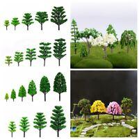 Plastic Mini Tree Miniature Plant Pots Bonsai Craft Micro Landscape DIY Decor