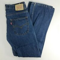 LEVIS 550 Womens Relaxed Fit Dark Wash Jeans 14 REGULAR 27x27
