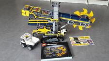 LEGO Technic Schaufelradbagger (42055), einmal aufgebaut, WIE NEU