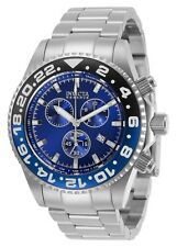 Invicta Men's Reserve 29982 44mm Blue Dial Stainless Steel Chronograph Watch