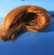 Vintage Barbie Doll Wig Midge Molded Long Pigtails Redhead Wardrobe VHTF