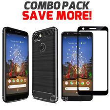 For Google Pixel 3a XL 3 XL 4 XL Heavy Duty Case Rugged Anti-Knock Bumper Cover