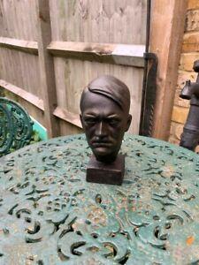 Cast Iron Bust of a WW2 Gentleman