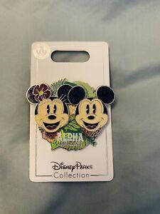 *New* Disney Aulani Resort Pin Mickey Minnie Mouse Aloha Hawaii Exclusive