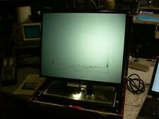 Vintage Visidyne Portable Microfiche Reader Works with keys & manual