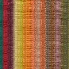 NORO ::Silk Garden Lite #2116:: mohair silk wool yarn Wine-Teal-Lemon-Orange-Nut