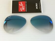 Authentic RAY BAN RB3025 58mm Lght Blue Gradient Replacement Lenses for aviators