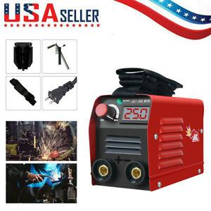110V 250A Mini Electric Welding Machine IGBT DC Inverter ARC MMA Stick Welder US