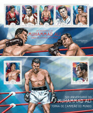 Muhammad Ali Boxing Sports Guinea-Bissau MNH stamp set