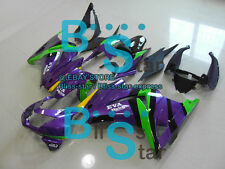 Purple Injection Fairings Bodywork Fit Kawasaki Ninja 250R EX250 08-12 50 A5
