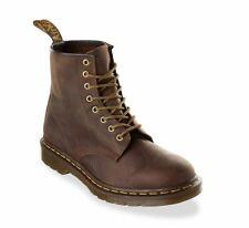 Para Hombres Zapatos Dr. Martens 1460 8 Ojo Cuero Botas 11822200 AZTEC CRAZY HORSE