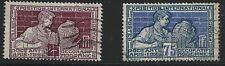 France Scott #222 & 224, Singles 1924-25 FVF Used