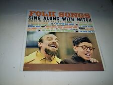 LP<<SING ALONG WITH MITCH MILLER AND THE GANG<<FOLK SONGS   **NM VINYL**   #132