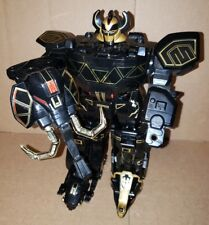 Black and Gold Megazord Mighty Morphing Power Rangers W/ Shield Bandai 1991