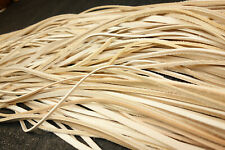 14 Ounces Bulk Bundle of Assorted Vegetable Tanned Cowhide Leather strips