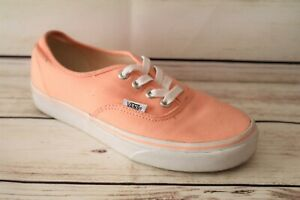 VANS Brand Women's Apricot Lace Up Sneaker Shoes Size 6.5 NEW