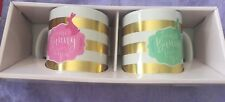 Easter Mug Set of 2 Some Bunny Loves You NIB Free Ship