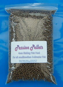 Sinking Pond Pellets Fish Food for Sturgeon Tench Carp Koi Passion Pellets