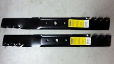 "Set of 2 John Deere 42"" Predator mower blades GX20249 Fits L100 and 100 series"