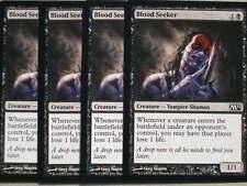 XXX 4x Blood Seeker Engl. Magic 2012 m12 (vampiros) XXX