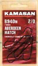 Kamasan B940M Aberdeen Match Fishing Hooks 6 pcks size 4/0