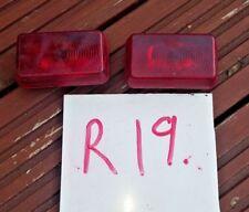 Rouge arrière/côté marqueur Lumière Marqueur 12 V-Voitures Van Camion Commercial caravanes